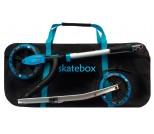 Сумка для самоката с колесами 230 мм SkateBox ST7 клетка