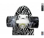Мини круизер Y-Scoo RT 22 Print Zebra черно-белый