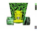 Мини круизер Y-Scoo RT 22 Print Elka зеленый