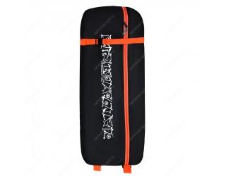 Чехол-рюкзак для трехколесного самоката Skatebox ST9 черно-оранжевый