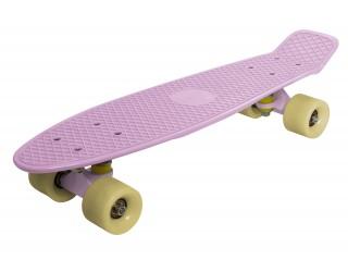 Мини круизер Fish Skateboard 22 кремово-розовый