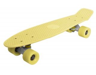 Мини круизер Fish Skateboard 22 желтый