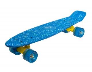 Мини круизер Fish Skateboard 22 Небо