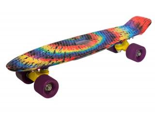 Мини круизер Fish Skateboard 22 Радуга