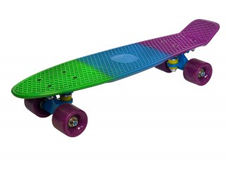 Мини круизер Fish Skateboard 22 трехцветный №1