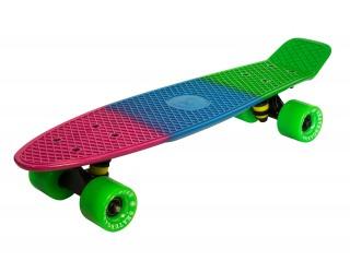 Мини круизер Fish Skateboard 22 трехцветный №9