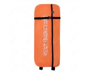 Чехол-рюкзак для трехколесного самоката Skatebox ST9 оранжево-черный