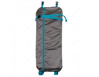 Чехол-рюкзак для самоката с колесами 200 мм SkateBox ST5 серебристый