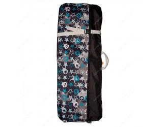 Чехол-рюкзак для самоката с колесами 200 мм SkateBox ST3 звезды