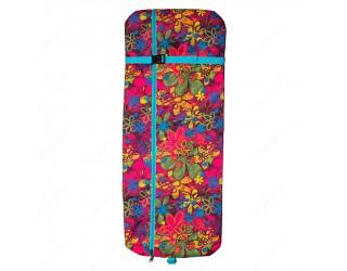 Чехол для самоката с колесами 200 мм SkateBox ST2 цветочки