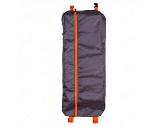 Чехол-рюкзак для самоката с колесами 200 мм SkateBox ST5 серо-оранжевый