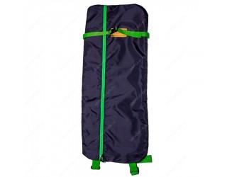 Чехол-рюкзак для самоката с колесами 200 мм SkateBox ST6 сине-зеленый