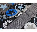 Сумка для самоката с колесами 230 мм SkateBox ST7 звезда