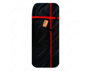 Чехол для самоката с колесами 200 мм SkateBox ST2 черно-красный