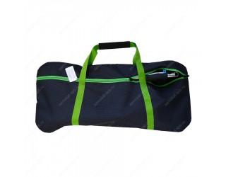 Сумка для самоката с колесами 230 мм SkateBox ST7 серо-зеленый