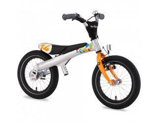 Беговел-велосипед 2 в 1 Rennrad 14 оранжевый