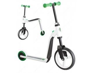 Беговел-самокат Scoot&Ride Highway Freak зеленый