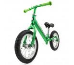 Беговел Small Rider Foot Racer Air с лыжами и колесами зеленый
