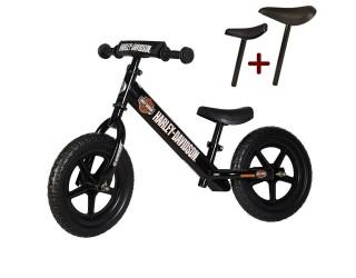 """Беговел Strider 12"""" Sport Harley-Davidson черный"""