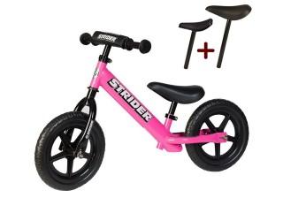 "Беговел Strider 12"" Sport розовый"