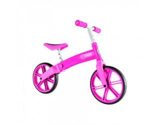 Беговел Y-Bike Y-Velo розовый