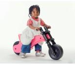 Беговел Y-Bike Original розовый в подарочной упаковке