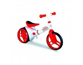 Беговел Y-Bike Y-Velo Twista красный