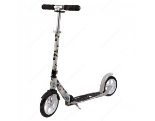 Самокат Micro Scooter White Floral серый