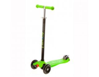 Самокат Micro Maxi T-tube зеленый