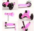 Самокат Micro Maxi T-tube розовый