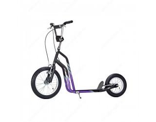 Самокат Yedoo City черно-фиолетовый