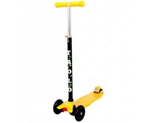 Самокат Trolo Maxi желтый
