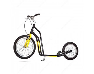 Самокат Yedoo Mezeq V-Brake черно-желтый