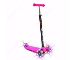 Самокат 21st Scooter Maxi Shine розовый
