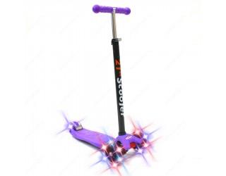 Самокат 21st Scooter Maxi Shine фиолетовый