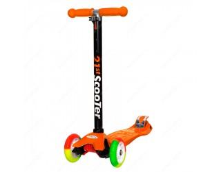 Самокат 21st Scooter Maxi Tricolor оранжевый