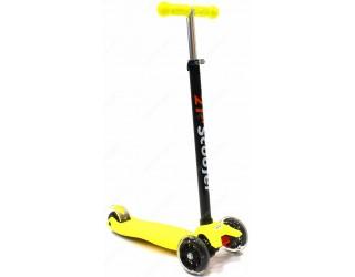 Самокат 21st Scooter Maxi желтый