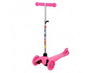 Самокат Bibitu Jay Mini Shine розовый