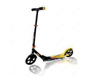 Самокат eXplore Voltage черно-желтый