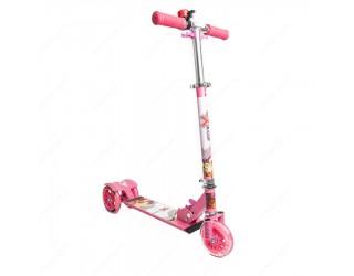 Самокат eXplore Omni sport розовый