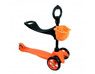 Самокат eXplore Saddler оранжевый