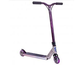Самокат Grit Fluxx 2015 серо-фиолетовый