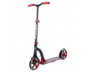 Самокат Hudora Big Wheel Flex 200 красный