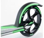 Самокат Hudora Big Wheel RX Pro 205 черно-зеленый