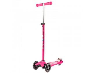 Самокат Micro Maxi Deluxe розовый