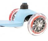 Самокат Micro Mini Candy голубой с прозрачными колесами