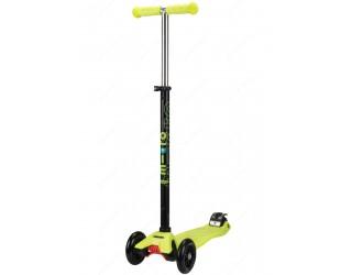 Самокат Micro Maxi T-tube неоново-желтый
