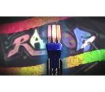 Самокат Razor Graffiti синий