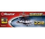 Самокат Razor Siege Scooter серебристый металлик