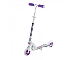 Самокат Spartan Sport 145 бело-фиолетовый